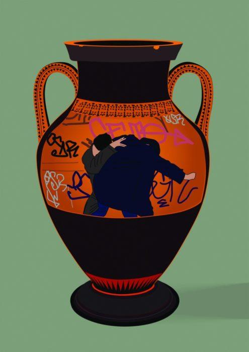 Martin Ebner, Vase, 2016, Digitaldruck, 59,4 x 84 cm, Auflage 6 Ex., 500 €