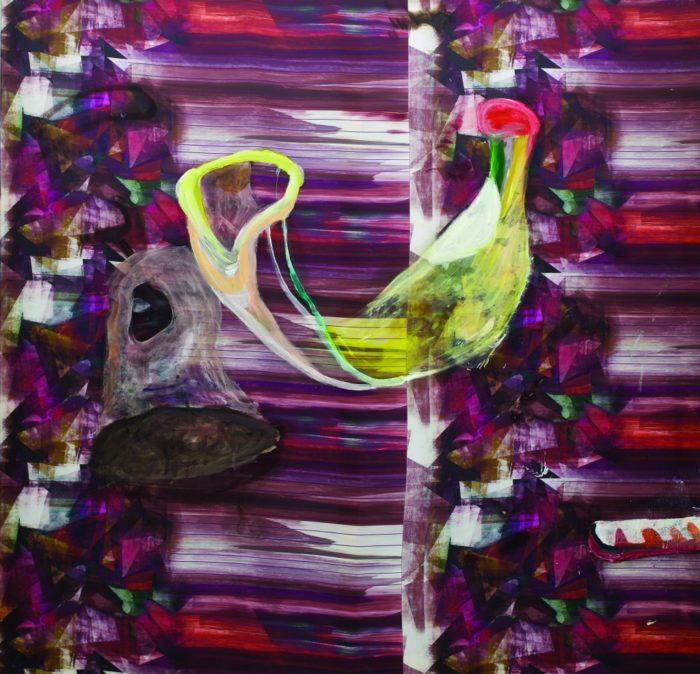 Gute Besserung,  Öl und Acryl auf Leinwand,  140 x 145 cm,  2014